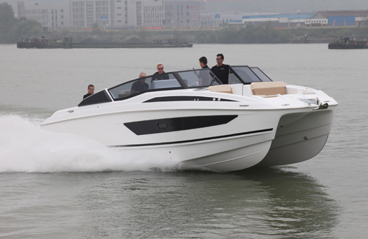 Aquila 36 being taken out on a test run